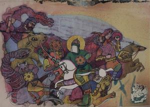 رزم9 از علی اکبر  سراوانی