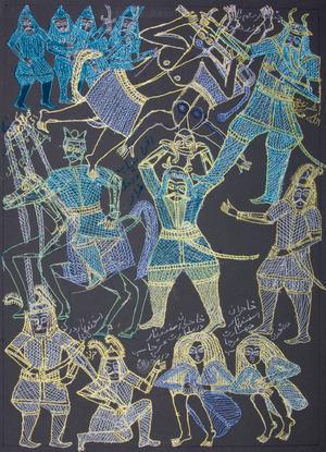 Battles of Shahnameh  Zabihullah Mohammady