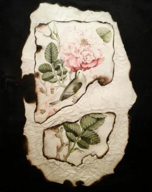 نقاشی ایرانی یک  از لوئیزا افشان فر