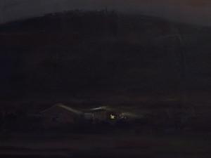 Home in a autumnal night  ghader Mansoori