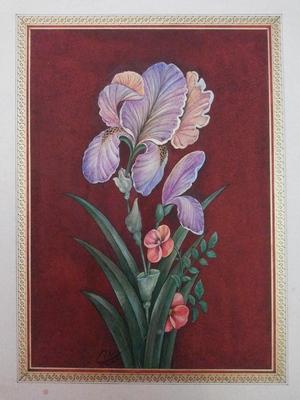 Iranian painting  samane Amoonabi