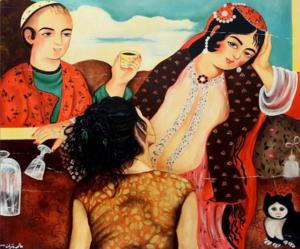 Love lady  alemeh bagherian