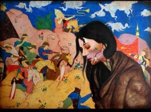 War lady  alemeh bagherian