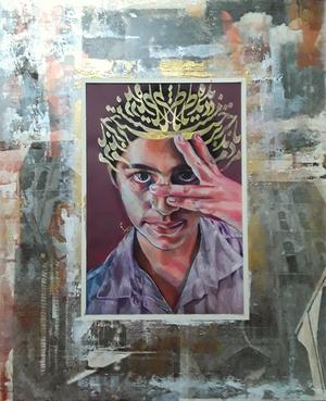 مردم دیده ی ما جز به رخت ناظر نیست، حافظ، از مجموعه ی دیوان من از می سم نژادرسولی