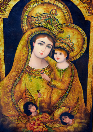 Mary SA and Christ AS  abdollah  rahimi