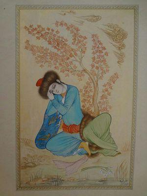 Iranian painting one  samane Amoonabi