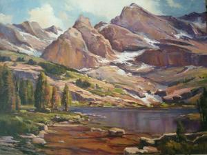 mountain and lake  Afshin Akbarzadeh
