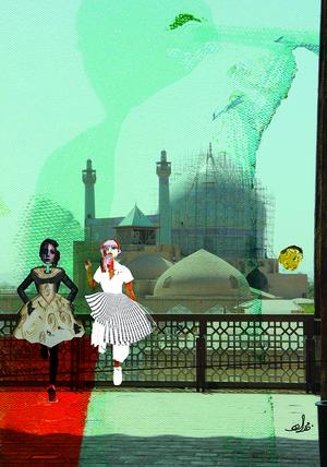 Wandering 1  Mahsa Rajabi and Bahareh Karimi