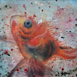 gold fish 2  mehrnaz ghafourian