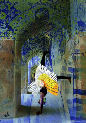 Wandering5  Mahsa Rajabi and Bahareh Karimi
