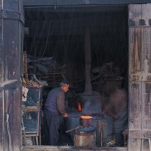 Masuleh, Blacksmith, Snow  Saeid  Mahmoudi Aznaveh