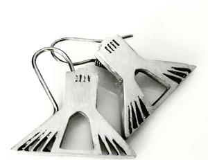 earrings-Architeture -freedom  SARA NORI