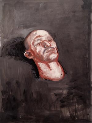 study on a head I  hossein shirahmadi