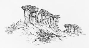 Sedimentary heights of Qeshm island  Mohamadmehran Yousefzadeh
