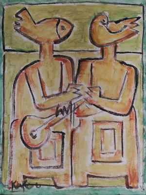 Untitled  mohammad ali  shivaee (kakou)