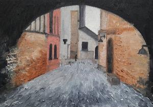 A street in Rome  rojano mohamadzade