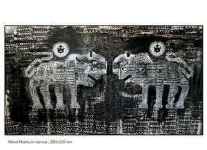 carpet lions  Shamsedin Ghazi