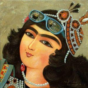 Today's Qajar girl  Abdi Asbaghi