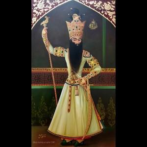 fathali shah ghajaar  Effat Manouchehri