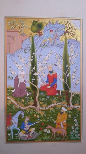 Shahname tahmasb  Maedeh zarei