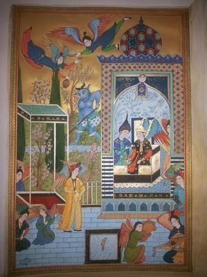 persian painting 2  samane Amoonabi