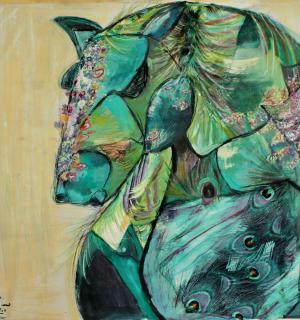 The horse life  Azin Najafi