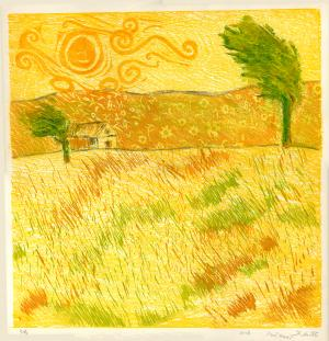 winding the yellow farm  Parvin Hanitabaei