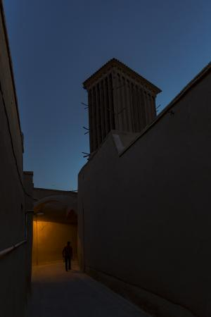 Alley of Yazd 1  shoresh mobasheri