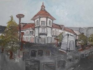 a building in Rasht  rojano mohamadzade