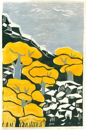 Yellow trees  Parvin Hanitabaei