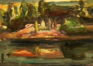"A Landscape in ""Atal"" 13  ghader Mansoori"