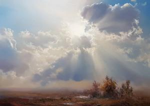 Clouds and Sun  Faramarz Mokhtarpour