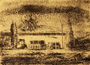 Landscape of a house  ghader Mansoori