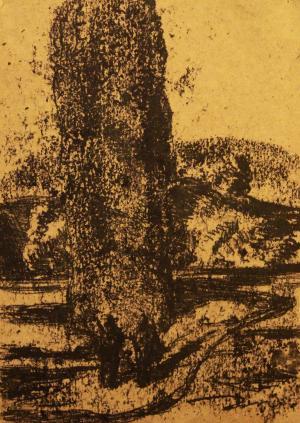 The old tree of Khiav  ghader Mansoori