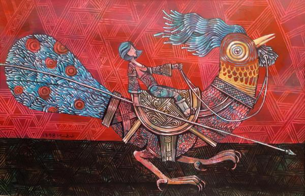 آثار هنری کمال طباطبائی
