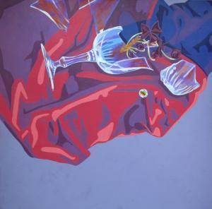 Purple shamrock  katayoun tehrani