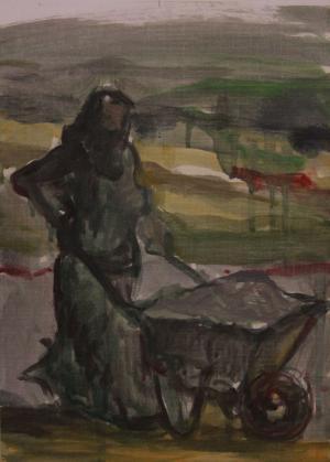 Villager woman  ghader Mansoori