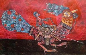 پرنده و سوار از کمال طباطبائی
