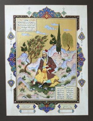 Sheikh Moslehuddin Saadi Shiraz  aliashraf ghanbari