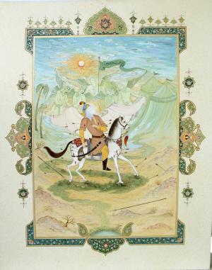 Hero of Karbala  aliashraf ghanbari