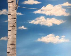 Tree and sky  Sepideh Ghaemmagham