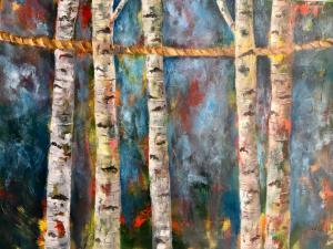 Birch tree   Sepideh Ghaemmagham