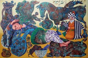 Hafez-jan 2  Samira Darya