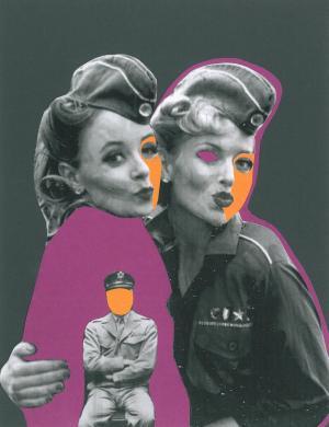war has no feminine face  atoosa safavizadeh
