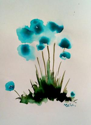 Blue  Robabeh(Roya) Delkhosh