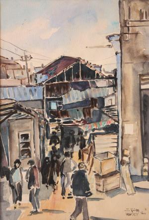 بازار همدان (راسته نجارها) از احمد فتوت