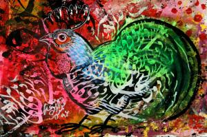 rooster one  Shamsedin Ghazi