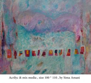 Works Of Art Sima Amani