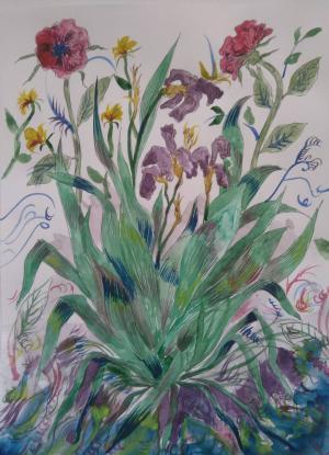 Flowers four  Gelareh Espomahalli