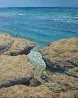 Rock and sea No2  Shayan  Ostovar